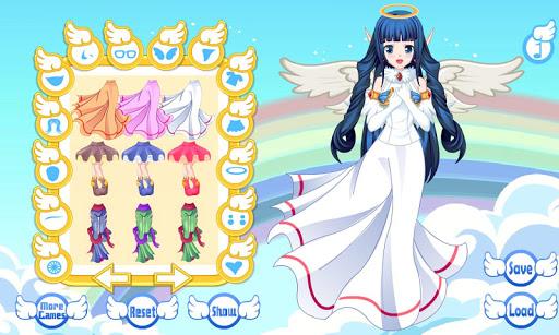 Dress Up Angel Avatar Anime Games goodtube screenshots 8