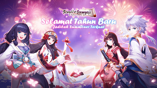 Scroll of Onmyoji: Sakura & Sword 19.1.7 screenshots 1