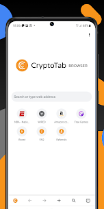 Crypto Tab Browser Pro—Mine on a PRO level 5