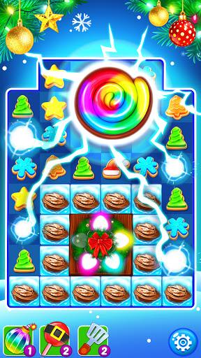 Christmas Cookie - Santa Claus's Match 3 Adventure apklade screenshots 2