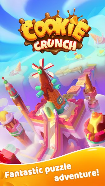 Cookie Crunch - Matching, Blast Puzzle Game