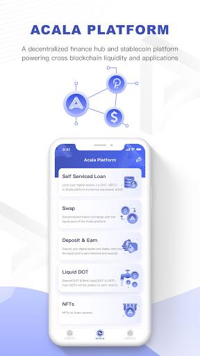 Polkawallet android2mod screenshots 4