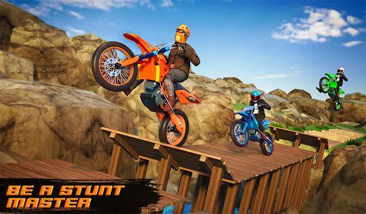 Motocross Dirt Bike Stunt Racing Offroad Bike Game apktram screenshots 5