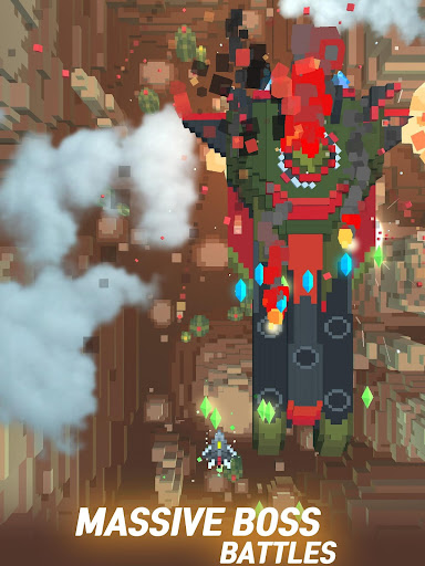 Sky Wings: Pixel Fighter 3D apktram screenshots 9