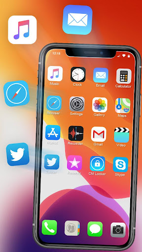 iLauncher Phone 11 Max Pro OS 13 Theme Wallpaper 1.1.1 Screenshots 1