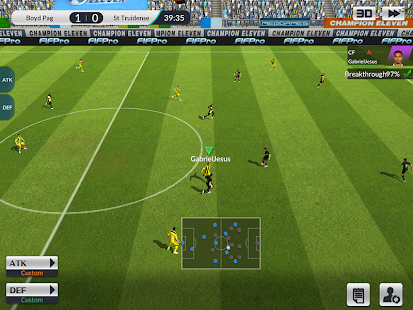 Champion Eleven Screenshot