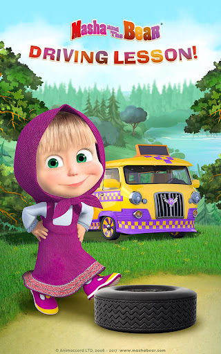 Masha and the Bear: Climb Racing and Car Games apkslow screenshots 9