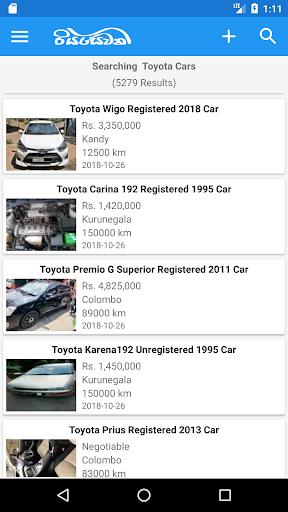 Riyasewana - Buy & Sell Vehicles 3.1 Screenshots 3