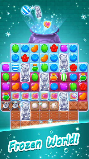 Candy Witch - Match 3 Puzzle Free Games  screenshots 3