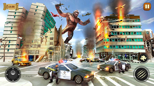 Dinosaur Rampage Attack: King Kong Games 2020 1.0.2 screenshots 18