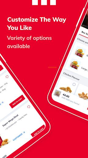KFC UAE (United Arab Emirates)  Screenshots 3