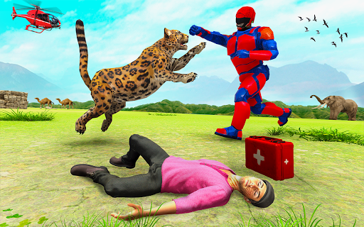 Superhero Police Speed Hero:Rescue Mission screenshots 24