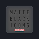 Matte Black Icon Pack