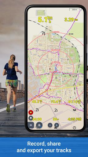 Locus Map 4: Hiking&Biking GPS navigation and Maps apktram screenshots 4