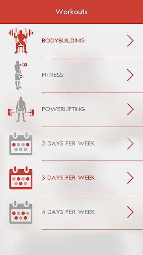 Fitness & Bodybuilding 2.7.9 Screenshots 4