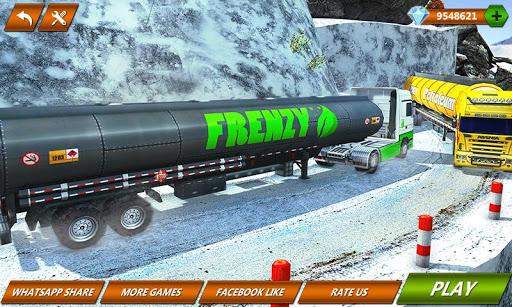 Offroad Oil Tanker Truck Transport Driver  Screenshots 1