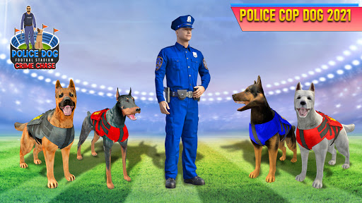 Police Dog Football Stadium Crime Chase Game  screenshots 4