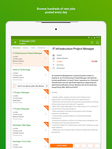 Totaljobs - Search for the top UK jobs online apktram screenshots 8