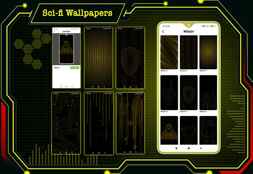 Visionary Launcher 2021 App lock, Hitech Wallpaper 27.0 Screenshots 6
