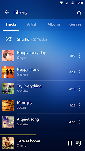 Music Player - Audio Player & Music Equalizer android2mod screenshots 2