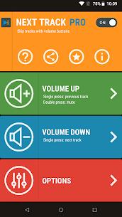 Next Track Mod Apk: Skip tracks (Pro Features Unlocked) 1