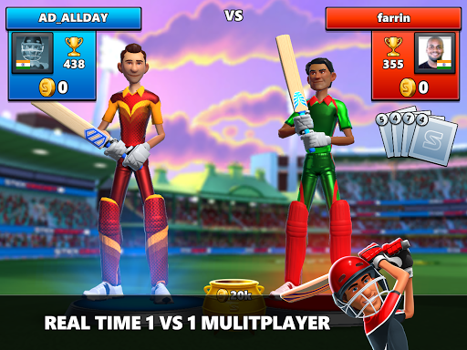 Stick Cricket Live 21 - Play 1v1 Cricket Games Apkfinish screenshots 18