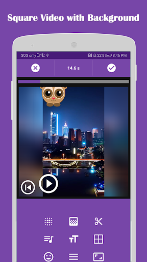 Video Editor: Square Video & Photo Slideshow 2.8 screenshots 1