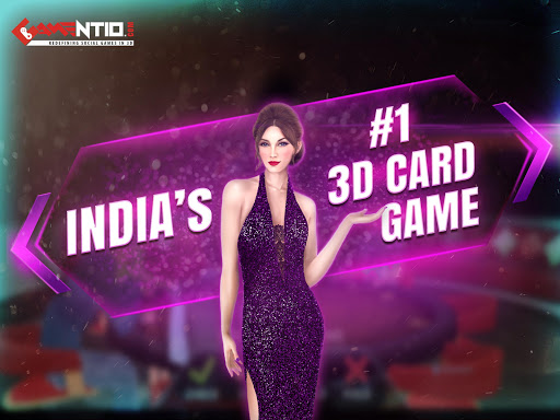 Gamentio 3D: Poker Teenpatti Rummy Slots +More  screenshots 16