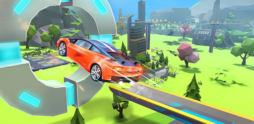 Mega Ramps - Galaxy Racer APK 0