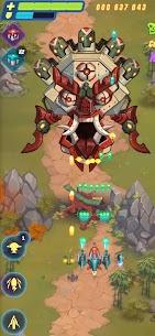HAWK Mod Apk: Airplane games. Shoot em up (Damage Multiplier) 4