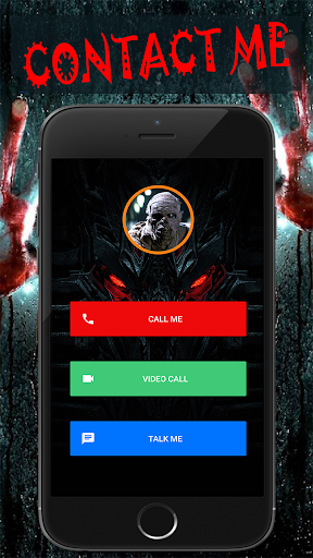 Scary Talk : Fake video call and chat prank  screenshots 1