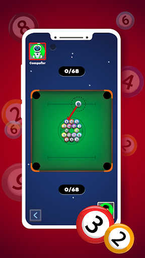 Marble pool : 8 Ball Pool in Carrom Board  screenshots 2