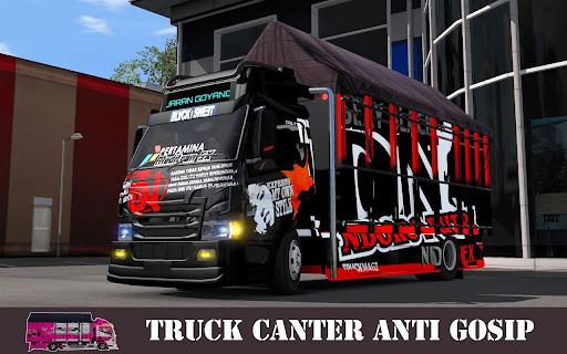 Truck Canter Simulator Indonesia 2021 - Anti Gosip 1.3 screenshots 1