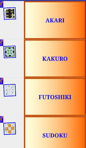 sudoku family premium kakuro akari futoshiki screenshot 3