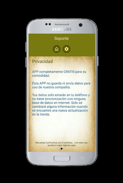 Captura de Pantalla 7 de Santo Rosario con Audio para android