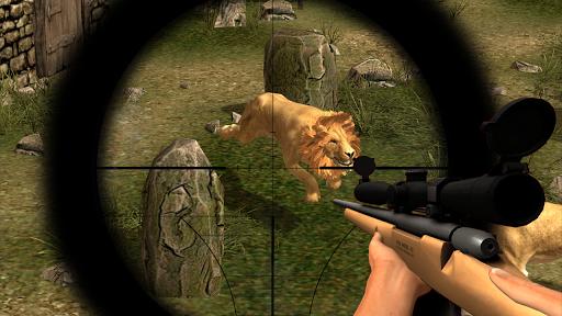 Animal Hunting : Lion Sniper Hunter screenshots 2