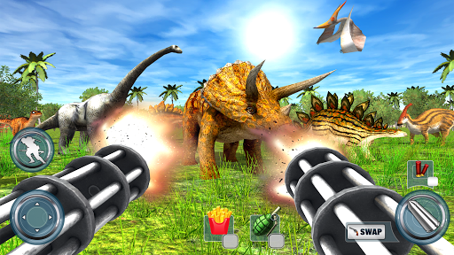 Dinosaur Hunter 2018 Free Apkfinish screenshots 8