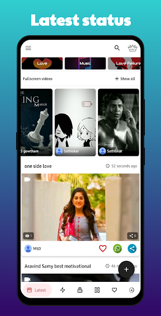 Tamil Status Videos For WhatsApp screenshot 7