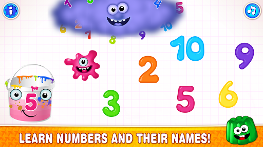 Learning numbers for kids! Writing Counting Games! apkslow screenshots 2