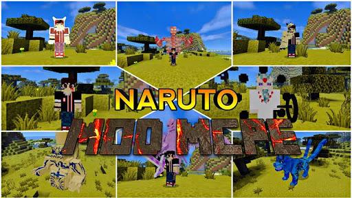 Mod Anime Heroes u2013 Mod Naruto for Minecraft PE 1.0.0 Screenshots 1