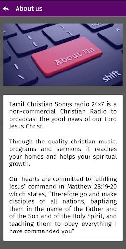 Tamil Christian Songs Radio 24x7  screenshots 4