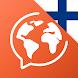 フィンランド語を無料で学習 - Androidアプリ