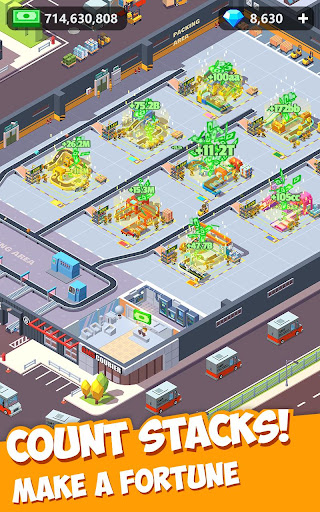 Idle Courier Tycoon - 3D Business Manager android2mod screenshots 5