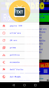 Teletext Nazionale 8.0 APK with Mod Free 2