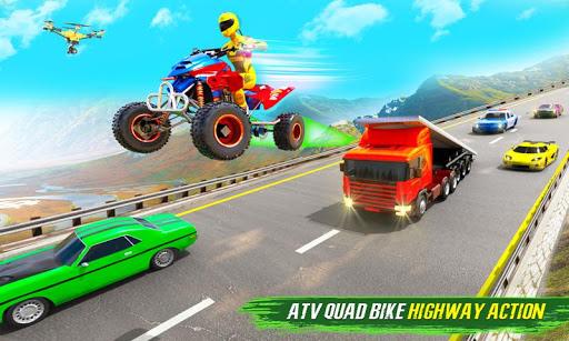 Light ATV Quad Bike Racing, Traffic Racing Games 18 Screenshots 1