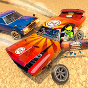Demolition Racing Car Crash Stunts