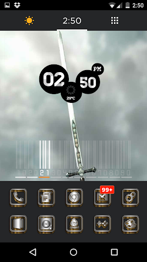 SilverGold 3D Icon CM&Launcher For PC Windows (7, 8, 10, 10X) & Mac Computer Image Number- 6