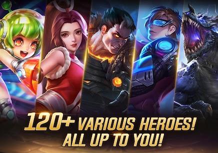 Heroes Evolved Mod Apk (Map Hack/Show Enemy) 9