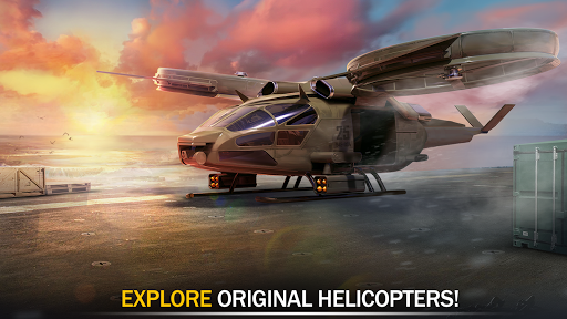 Gunship Force: Free Helicopter Games Attack 3D  screenshots 11