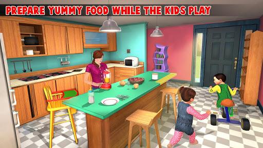 Virtual Mother New Baby Twins Family Simulator 2.1.8 updownapk 1